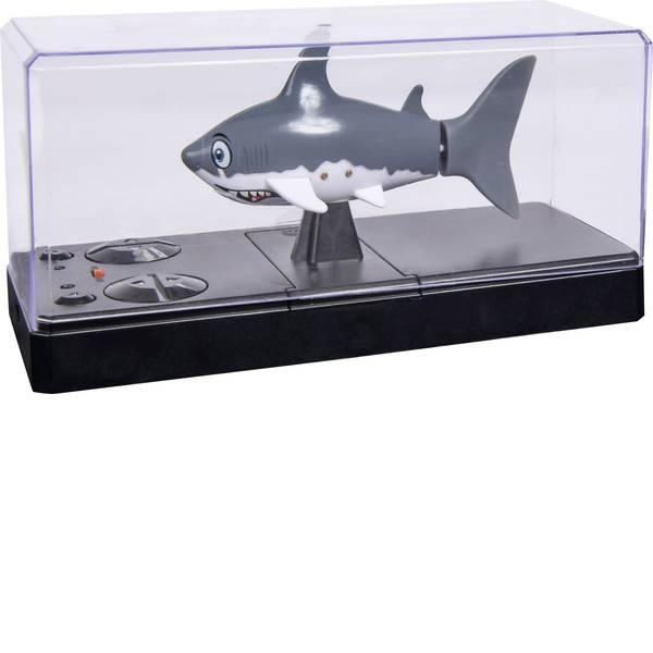 Barche telecomandate - Carson RC Sport Sharky Barca a motore per principianti 100% RtR 110 mm -