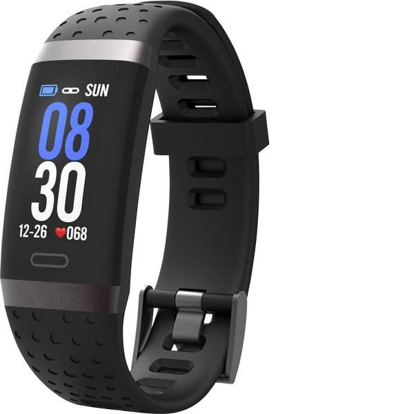 Dispositivi indossabili - swisstone SW 380 HR schwarz Fitness Tracker Nero -