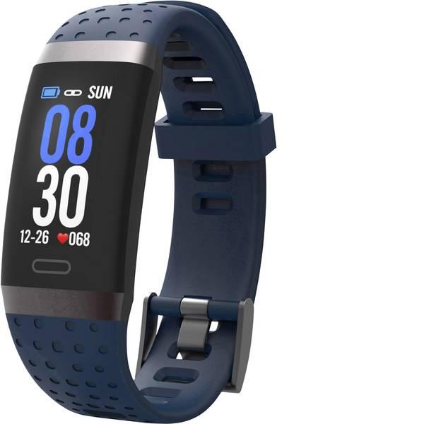 Dispositivi indossabili - swisstone SW 380 HR blau Fitness Tracker Blu -