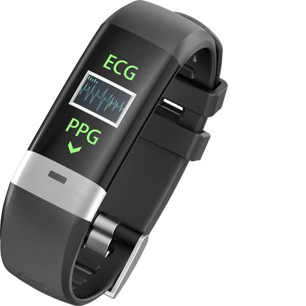 Dispositivi indossabili - swisstone SW 620 ECG Fitness Tracker Nero -