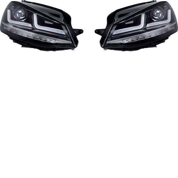 Faretti per auto - Fanale completo LEDriving® Golf VII Chrome Edition Xenonersatz LED Osram Auto (L x L x A) 63 x 40 x 24 cm Cromo  -