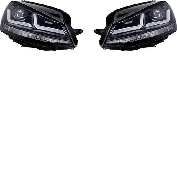 Faretti per auto - Fanale completo LEDriving® Golf VII Black Edition Xenonersatz LED Osram Auto (L x L x A) 63 x 40 x 24 cm Nero -