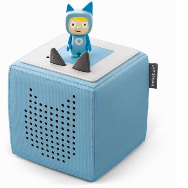 Giochi per bambini - Tonies starter kit blu chiaro incl. Tonie creativi -