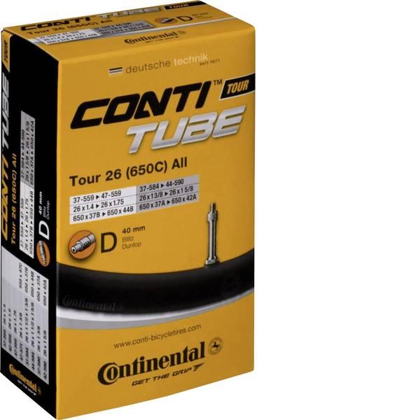 Camere d`aria per biciclette - Camera daria 26 pollici Continental Tour 26 37/559-47-597 DV40 Valvola Dunlop (DV) -