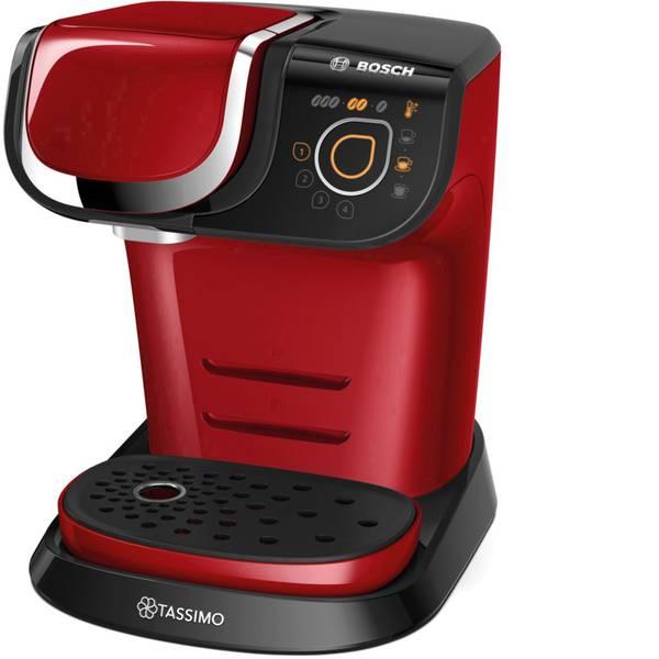 Macchine a capsule Nespresso - Bosch Haushalt Tassimo MyWay TAS6003 Rosso, Nero Macchina per caffè con capsule -