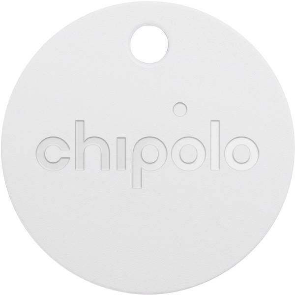 Accessori comfort per auto - Trova chiavi Chipolo Plus CH-CPM6-WE-R 107 mm x 107 mm x 31 mm Bianco -