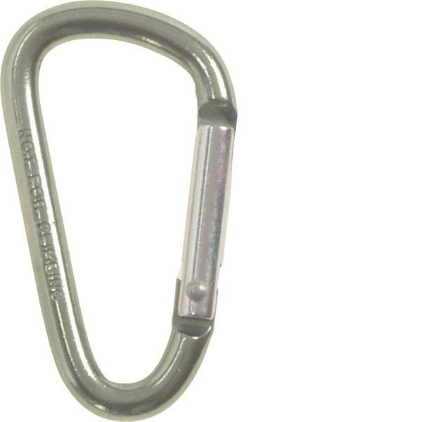 Tende e accessori - Moschettone MFH D5x50A 27533A 1 pz. -