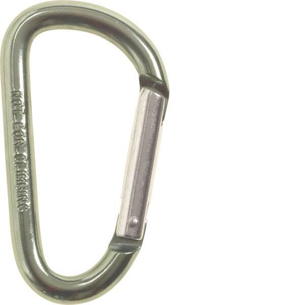 Tende e accessori - Moschettone MFH D8x80A 27533D 1 pz. -