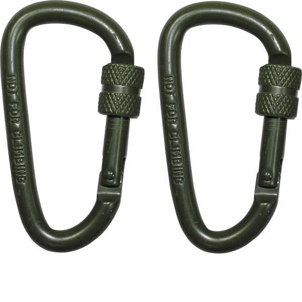 Tende e accessori - Moschettone MFH D6x60O 27535B 2 pz. -