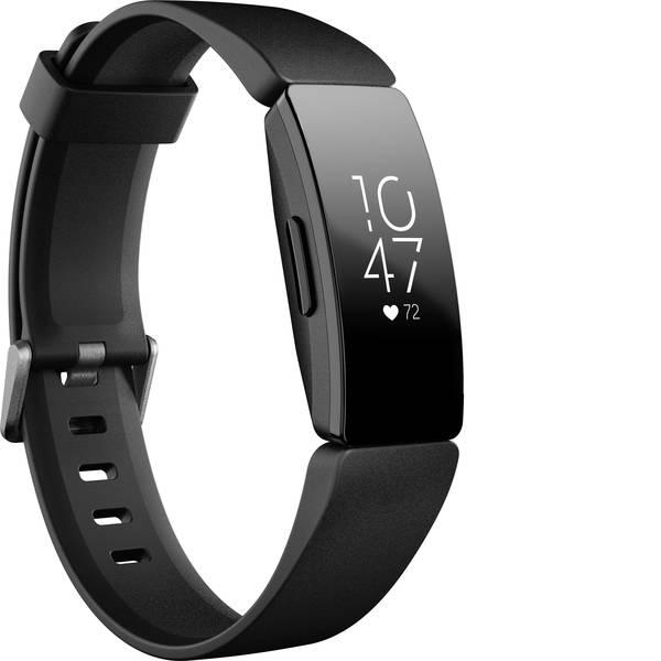 Dispositivi indossabili - FitBit Inspire HR Fitness Tracker Nero -
