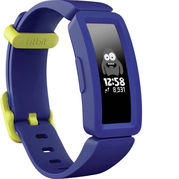 Dispositivi indossabili - FitBit Ace 2 Fitness Tracker Blu scuro , Giallo Neon -