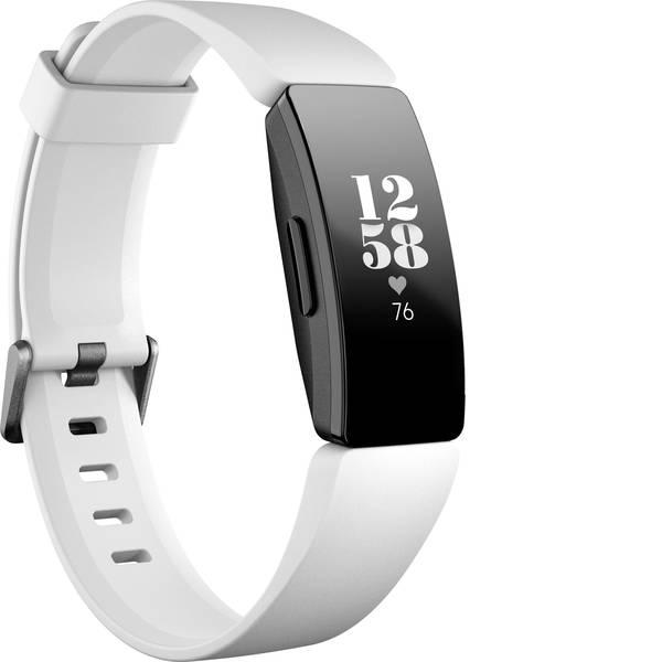 Dispositivi indossabili - FitBit Inspire HR Fitness Tracker Bianco -