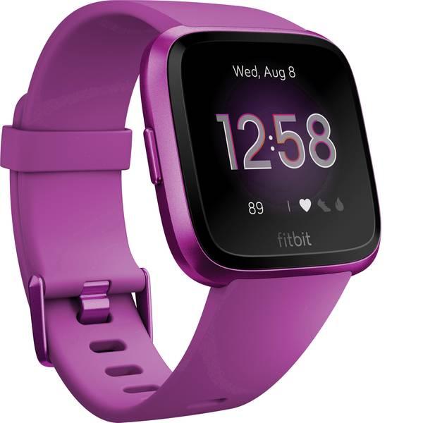 Dispositivi indossabili - FitBit Versa Lite Fitness Tracker Magenta -