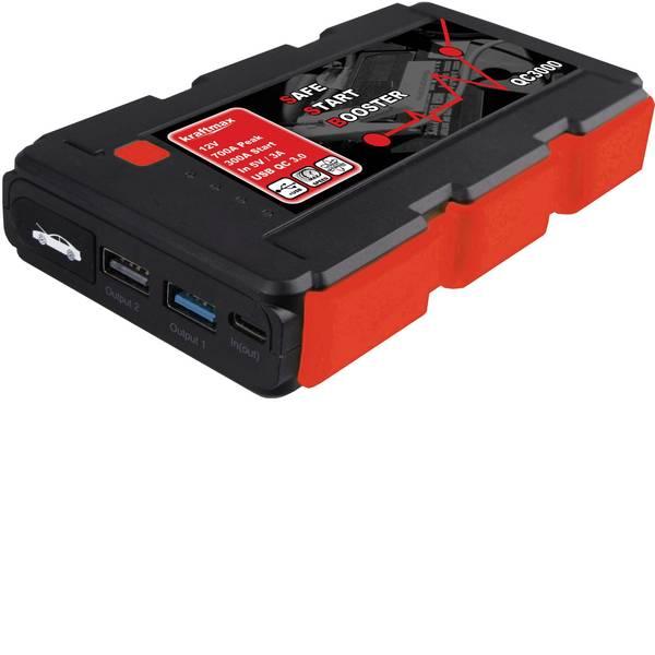 Jump Starter - Sistema di accensione rapido kraftmax QC3000 143849 Corrente davviamento ausiliaria (12 V)=350 A -