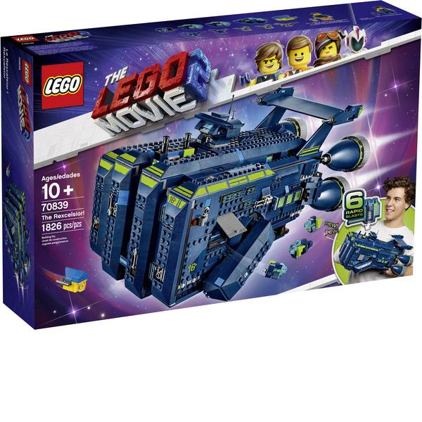 The LEGO® Movie 2 - The LEGO® MOVIE 70839 La Rexcelsior! -