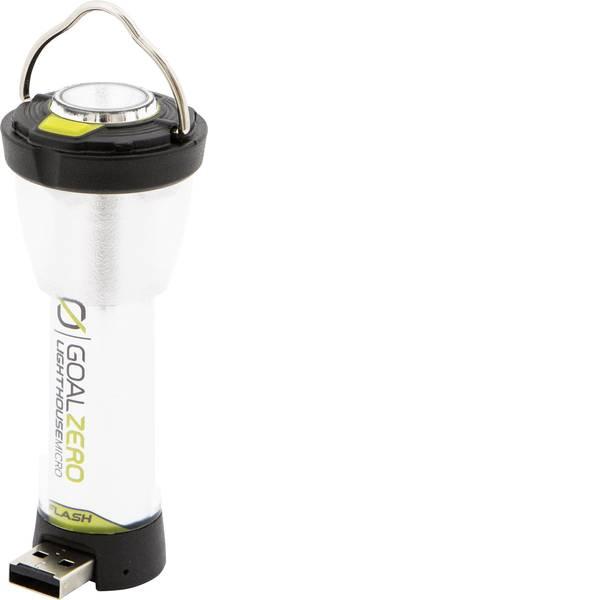 Lampade per campeggio, outdoor e per immersioni - LED Luce da campeggio Goal Zero Lighthouse Micro Flash 150 lm a batteria ricaricabile 68 g Nero Giallo 32005 -