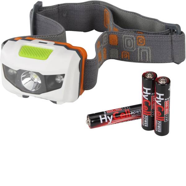 Lampade da testa - HyCell HC Headlight LED Lampada frontale a batteria 80 lm 1600-0077 -