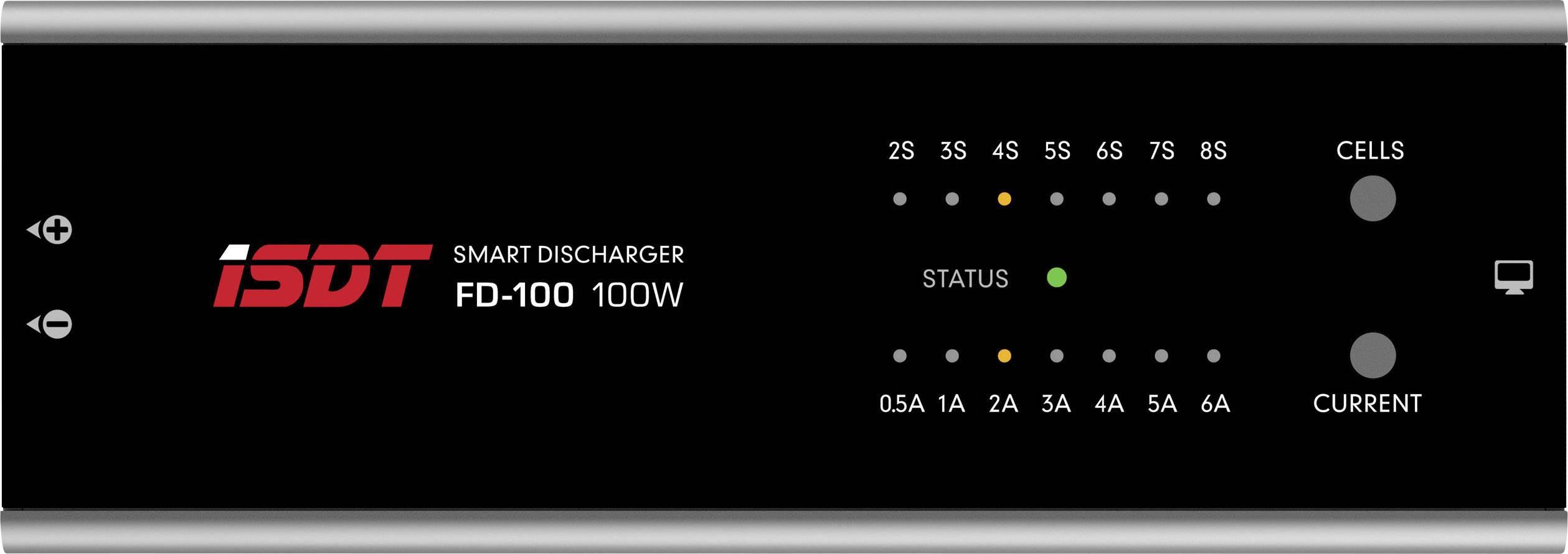 Scaricatore per modellismo ISDT FD 100 LiPo, LiIon, LiFePO, LiHV