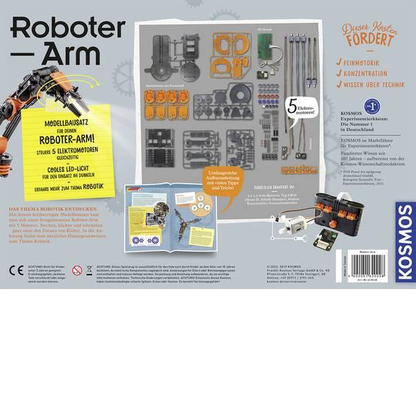 Robot in kit di montaggio - Kosmos Braccio robotico in kit da montare 620028 -