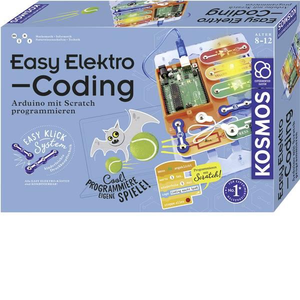 Kit esperimenti e pacchetti di apprendimento - Kit esperimenti Kosmos Easy Elektro - Coding 620523 da 8 anni -