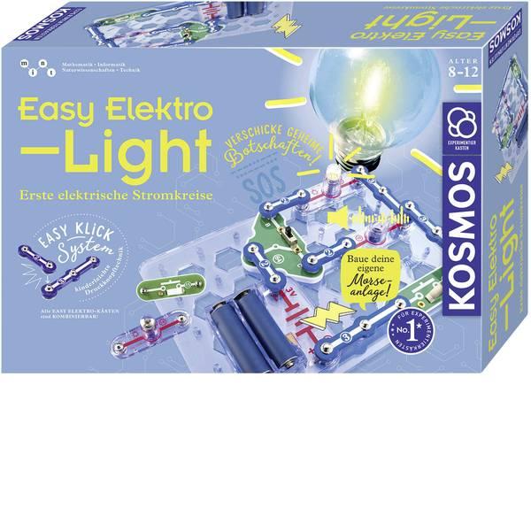 Kit esperimenti e pacchetti di apprendimento - Kit esperimenti Kosmos Easy Elektro - Light 620530 da 8 anni -