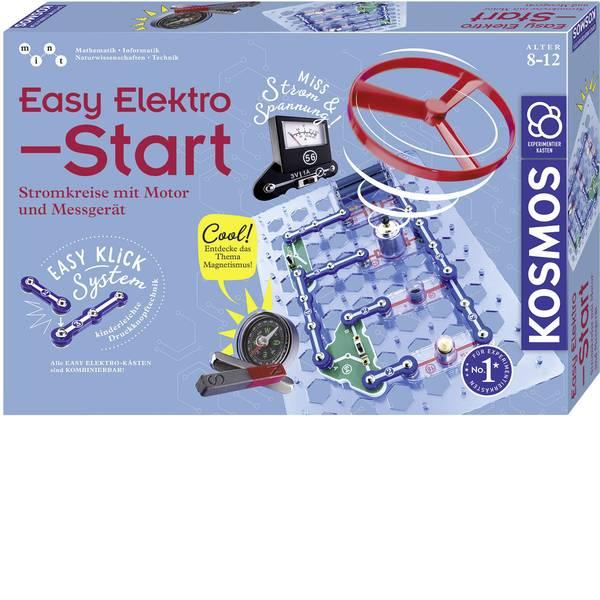Kit esperimenti e pacchetti di apprendimento - Kit esperimenti Kosmos Easy Elektro - Start 620547 da 8 anni -