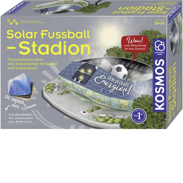 Kit esperimenti e pacchetti di apprendimento - Kosmos 628192 Solar-Fußballstadion Kit esperimenti da 10 anni -