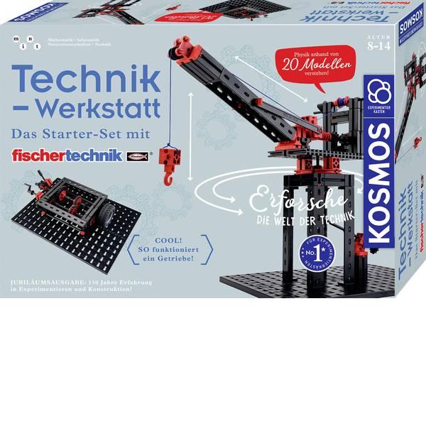 Kit esperimenti e pacchetti di apprendimento - Kit esperimenti Kosmos Technik-Werkstatt 628208 da 8 anni -