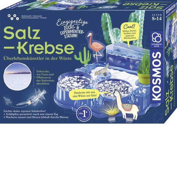 Kit esperimenti e pacchetti di apprendimento - Kit per esperimenti Kosmos Salzkrebse 633264 da 8 anni -