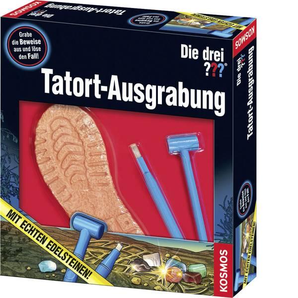 Kit esperimenti e pacchetti di apprendimento - Kosmos 634049 Die drei ??? Tatort-Ausgrabung Kit esperimenti da 8 anni -