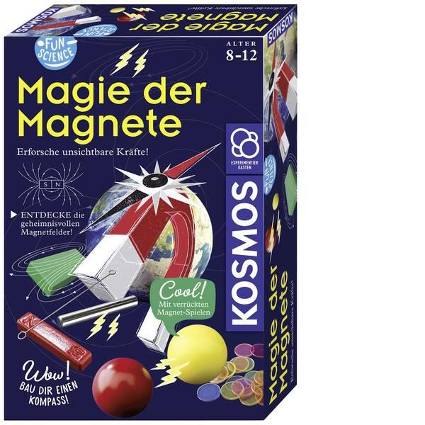 Kit esperimenti e pacchetti di apprendimento - Kit esperimenti Kosmos FunScience Magie der Magnete 654146 da 8 anni -