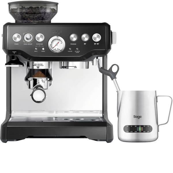 Macchine per caffè espresso - Macchina caffè a filtri Sage The Barista Express Acciaio, Nero 2400 W Con macina caffè, Con ugello schiumalatte -