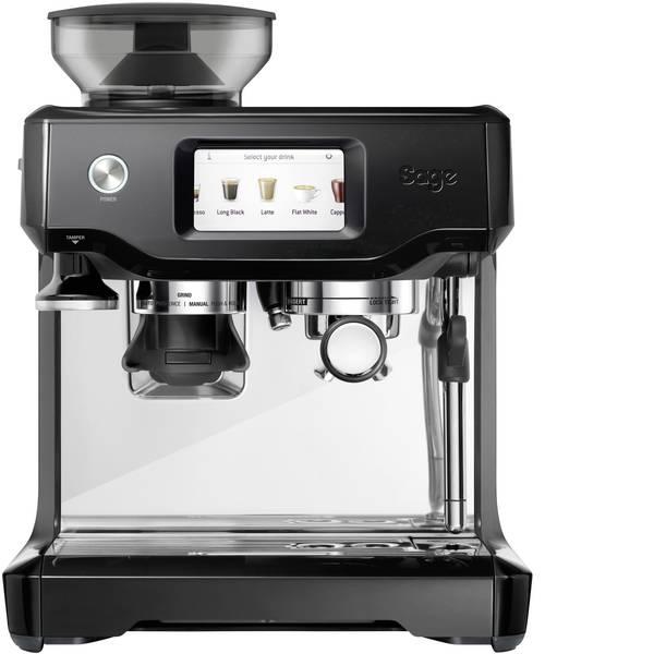 Macchine per caffè espresso - Macchina caffè a filtri Sage The Barista Touch Acciaio, Nero 2400 W Con ugello schiumalatte, Con macina caffè -