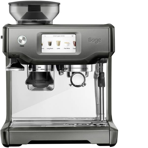 Macchine per caffè espresso - Macchina caffè a filtri Sage The Barista Touch Bianco, Nero 2400 W Con macina caffè, Con ugello schiumalatte, Display -
