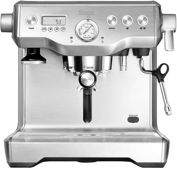 Macchine per caffè espresso - Macchina caffè a filtri Sage The Dual Boiler Nero 2200 W Con scarico acqua calda, Display, Con ugello schiumalatte -