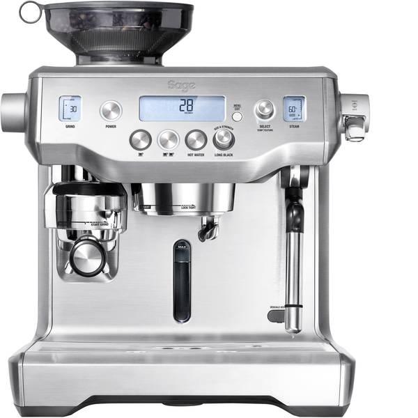 Macchine per caffè espresso - Macchina caffè a filtri Sage The Oracle Argento 2400 W Display, Con macina caffè, Con ugello schiumalatte -