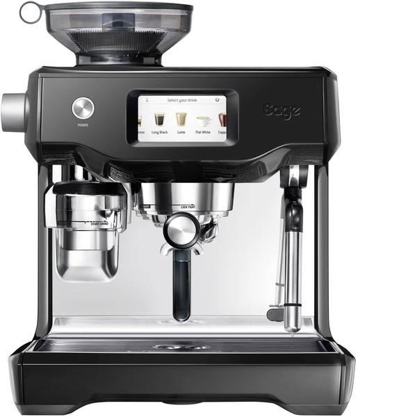 Macchine per caffè espresso - Macchina caffè a filtri Sage The Oracle Touch Nero, Acciaio 2400 W Display, Con macina caffè, Con ugello schiumalatte -