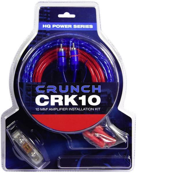 Kit di collegamenti HiFi per auto - Kit di collegamento amplificatore HiFi per auto 10 mm² Crunch CRK10 -