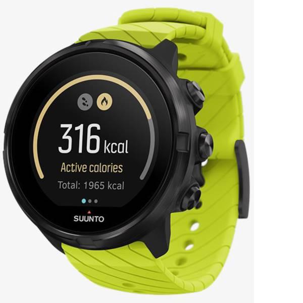 Dispositivi indossabili - Suunto 9 Smartwatch Verde lime -