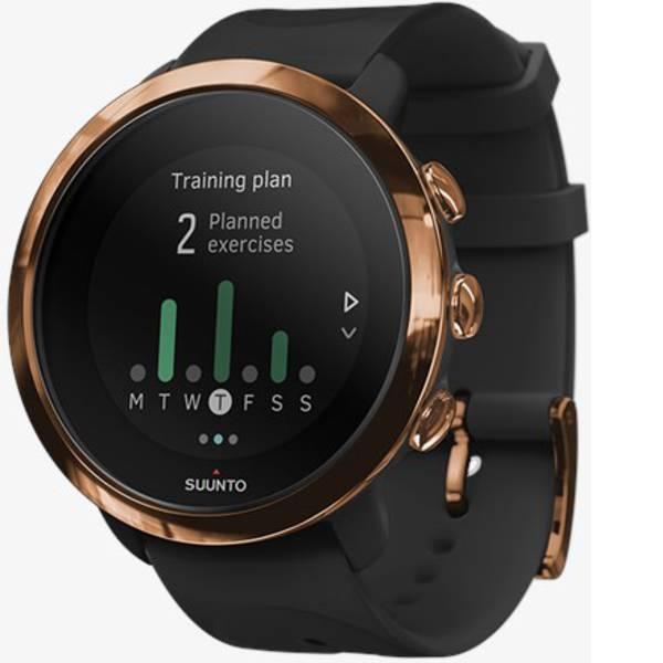 Dispositivi indossabili - Suunto 3 Fitness Smartwatch Nero -