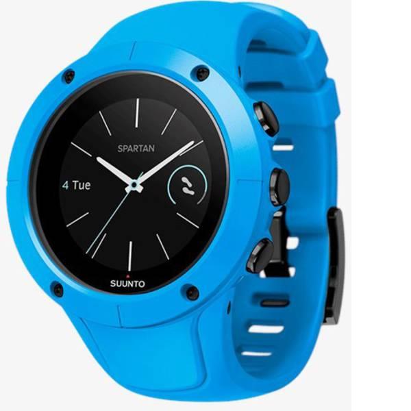Dispositivi indossabili - Suunto Spartan Trainer Wrist HR Smartwatch Blu -