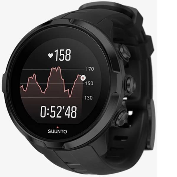 Dispositivi indossabili - Suunto Spartan Sport Wrist HR Smartwatch Nero -