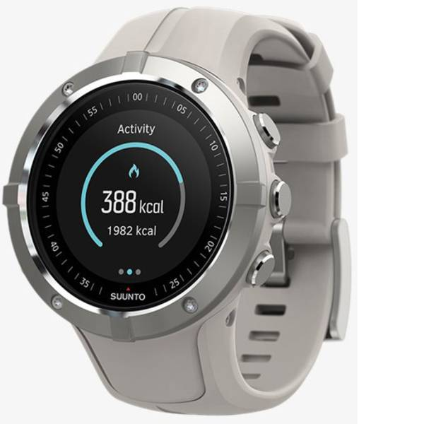 Dispositivi indossabili - Suunto Spartan Trainer Wrist HR Smartwatch Beige -