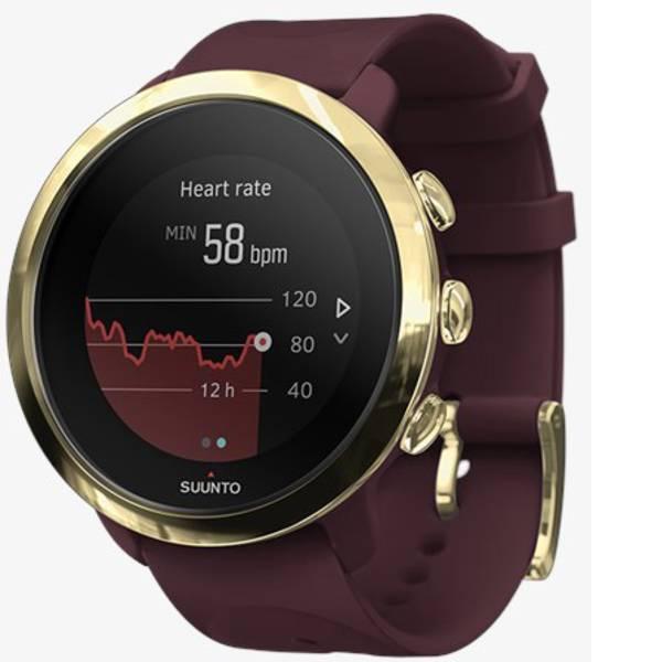 Dispositivi indossabili - Suunto 3 Fitness Smartwatch Rosso mogano -