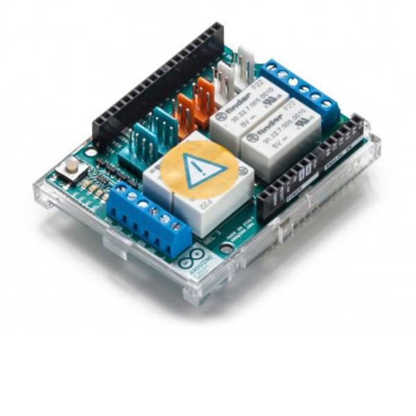 Shield e moduli aggiuntivi HAT per Arduino - Arduino AG 4 RELAYS SHIELD -