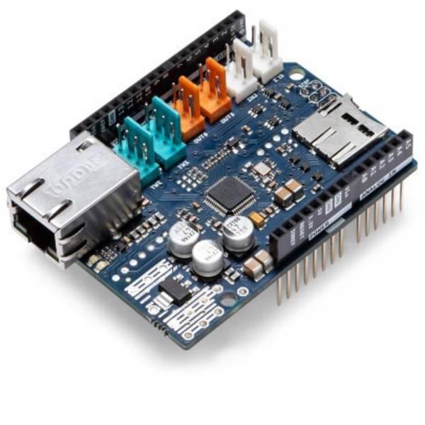 Shield e moduli aggiuntivi HAT per Arduino - Arduino AG ETHERNET SHIELD 2 -