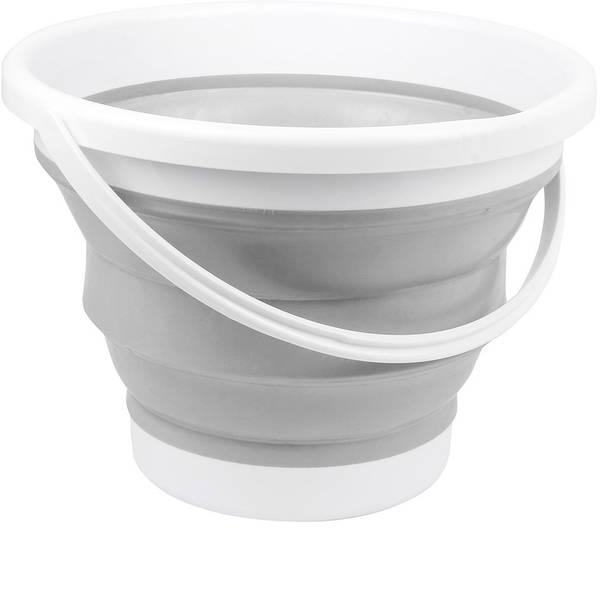 Accessori per cucine da campo - Secchio pieghevole outdoor APA Plastica, Silicone 19973 bucket 10L -