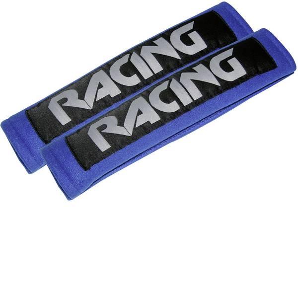 Accessori comfort per auto - Imbottitura copri cintura di sicurezza Eufab Racing blue 28207 22 mm x 7 cm x 3 cm -