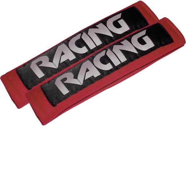 Accessori comfort per auto - Imbottitura copri cintura di sicurezza Eufab Racing red 28208 22 mm x 7 cm x 3 cm -