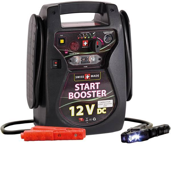 Jump Starter - Sistema di accensione rapido ELMAG Start Booster UK 9000 A 55088 Corrente davviamento ausiliaria (12 V)=1800 A -